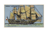 French 64 Gun Ship of the Line Protecteur  1790