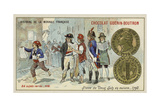 Copper 2 Sols Piece  1792