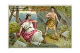 The Death of Caius Gracchus  Rome  121 BC