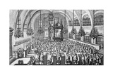 The Gathering in the Synagogue  1705