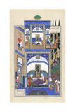 Mihrab Hears of Rudabeh's Folly  C1500-1540S