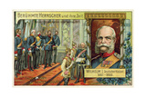 Wilhelm I Proclaimed Emperor of Germany in Versailles  1871