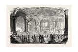 Palace of Versailles: the New Dances and Concerts Hall  1855