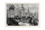 The Royal Entry into London: the Procession at Buckingham Palace 1874