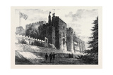 Berkeley Castle Gloucestershire Visited by the Prince of Wales 1873