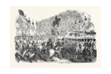 Colossal Statue of Napoleon  in the Champs Elysees  1852