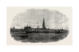 New Route to Belgium: the Aquila Steamship Leaving Antwerp 1854