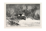 Triumph of the Snow-Plough  Canada  Nineteenth Century