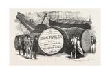 Monster Casks of Sherry in the London Docks  UK  1851