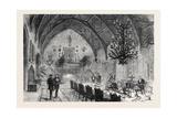Dining Room Berkeley Castle Gloucestershire 1873