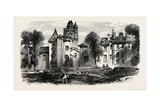 Chateau at Bayonne  the Pyrenees  France  19th Century