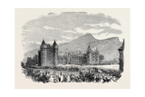 The Processlon Entering the Palace of Holyrood