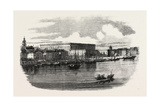 The Royal Palace  Stockholm  Sweden  1860