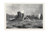 The Giant Geyser Montana North America 1873