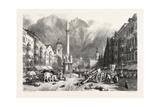 Innsbruck  Tyrol  Austria  19th Century