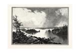 Muskoka Lake  Canada  Nineteenth Century