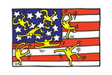 Untitled Pop Art Giclée par Keith Haring