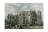London Westminster Abbey 19th Century Church Street
