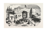 Headquarters of Omer Pasha-Soukoum Kale  1855