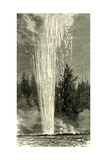 The Splendid Geyser in Action 1891  USA