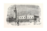 Campanile of St Mark's and Palace of the Doges Venice