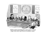 """All those in favor of switching from a caucus system to a kind of Hunger …"" - Cartoon"
