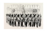 Fete at the Crystal Palace the Guides' Band 1854