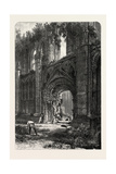 Glastonbury Abbey  UK  19th Century