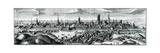 Panoramic View of Danzig (Gdansk)  18th Century