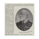 Admiral Sir H Fairfax