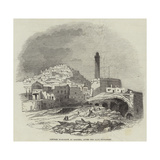 Powder Magazine at Algiers  after the Late Explosion