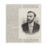The Late Mr Alfred Nobel