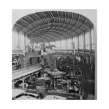 The Galerie Circulaire at the Exposition Universelle of 1867