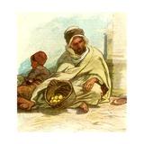 Kabyle Selling Lemons Algiers 1885