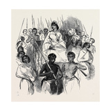 Ranavalona  Queen of Madagascar in Her State Howdah