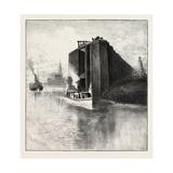 New Brunswick  Wharf at St Andrews  Canada  Nineteenth Century