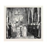 Monastic Life in England: Monks in Choir