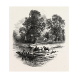 The Bells of Ousely  Scenery of the Thames  UK  19th Century
