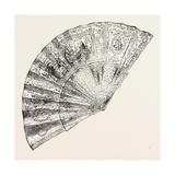 Louis XIV Fan   1882