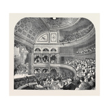 The New Vaudeville Theatre  1870