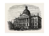 State House  Boston  USA  1870S