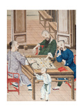 A Game of Strategy in China  Late 18th Century