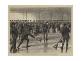 Prince Arthur Opening the Caledonia Curling Rink at Montreal