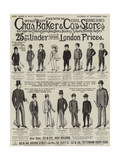 Advertisement  Charles Baker and Co's Stores