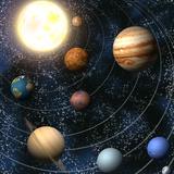 Le système solaire Papier Photo par Christos Georghiou
