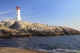Peggy Cove Lighthouse  Nova Scotia  Canada