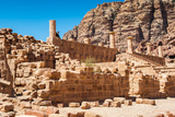 Great Temple Complex in Petra (Rose City)  Jordan the City of Petra Was Lost for over 1000 Years