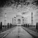 Taj Mahal on Sunrise Sunset  Agra  India