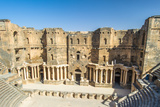 The 2Nd Century Roman Theater  Constructed Probably under Trajan Ancient City of Bosra  UNESCO Wor