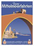 Unsere Mittelmeerfahrten (Our Mediterranean Cruises) - (Hamburg-American Line)